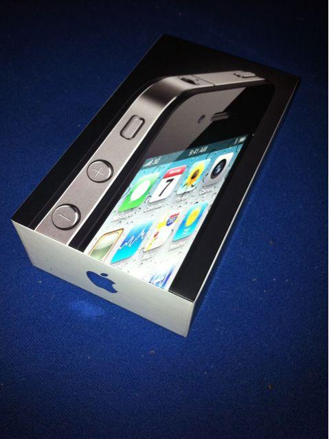 iPhone 4 mit iPhone aufgenommen